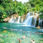 Belevenis Nationaal Park Krka Dalmatië Kroatië